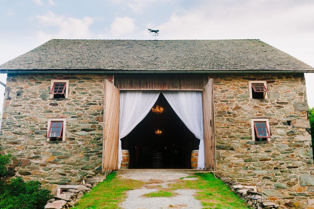 stone barn at Sylvanside