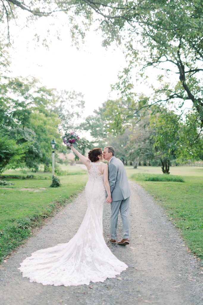 couple from real weddings at Sylvanside Farm