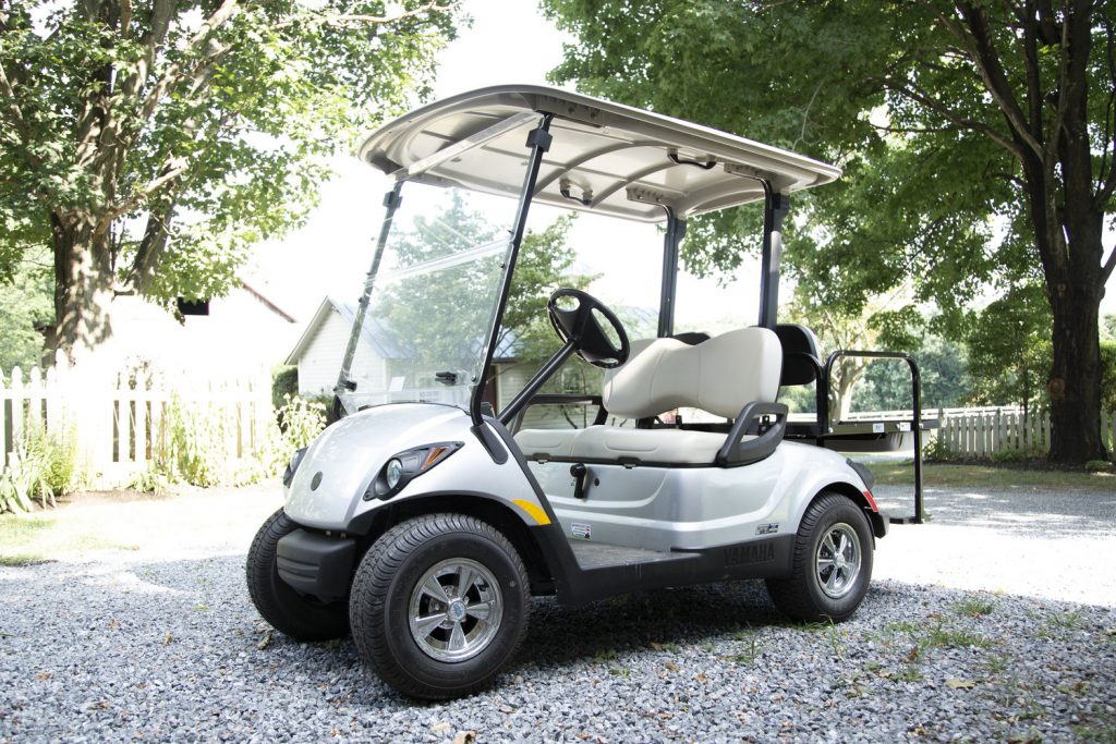 complementary offering golf cart